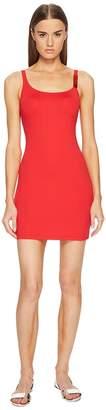 Moschino Basic Color Dress Cover-Up Women's Swimwear