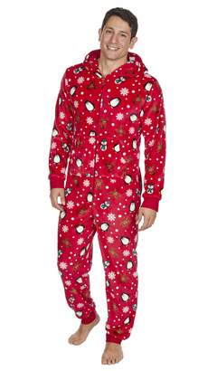 cfa4be8115 at Amazon Canada · Onezee Adults Unisex Christmas Onesie (M L