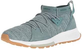 adidas Women's Quesa Running Shoe White/Grey
