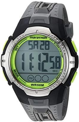 Timex Marathon by Men's TW5M06700 Digital Full-Size Resin Strap Watch