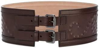 Alberta Ferretti wide bukle belt