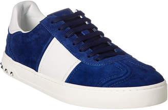 Valentino Flycrew Suede Sneaker