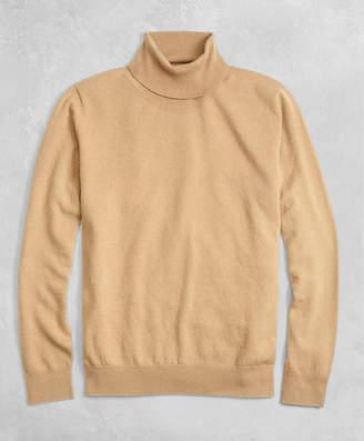 Brooks Brothers Golden Fleece 3-D Knit Cashmere Turtleneck