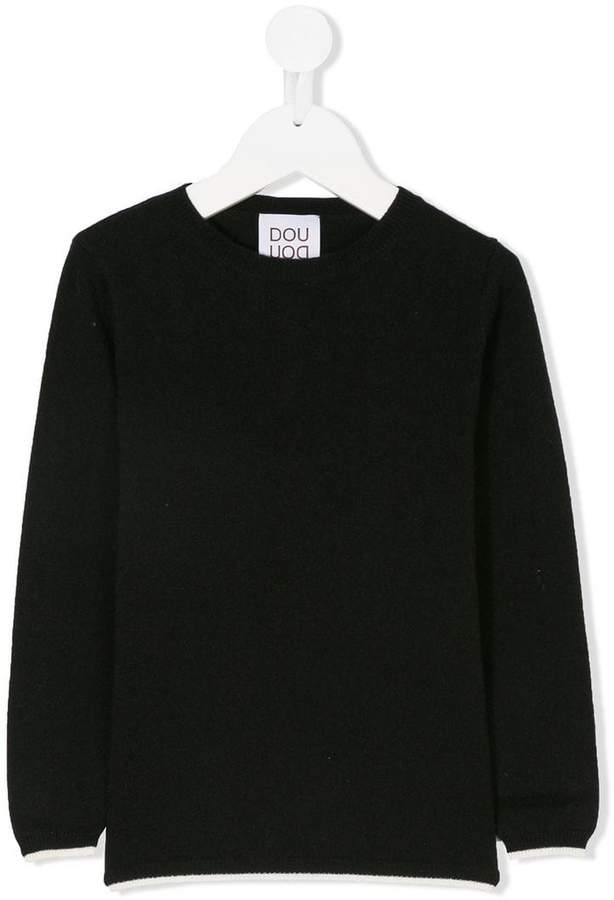 Douuod Kids classic knitted sweater