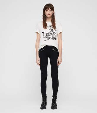 AllSaints Terro Zip Legging