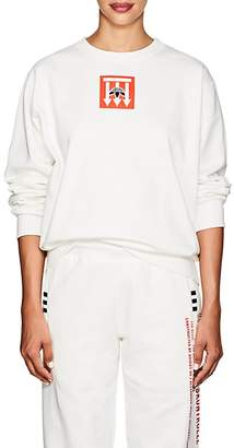 adidas Originals by Alexander Wang Women's Logo Cotton Fleece Sweatshirt