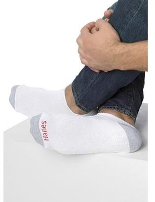 Hanes Men's No-Show Socks 6-Pack