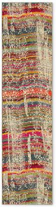 "Oriental Weavers Kaleidoscope 5992F Streaked Stripes 2'7"" x 10' Runner Rug"