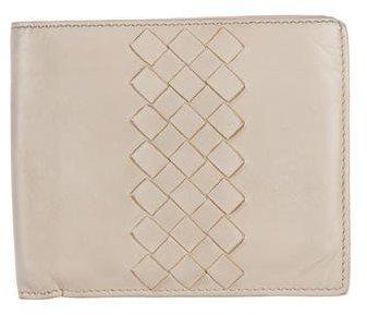 Bottega VenetaBottega Veneta Intrecciato-Trimmed Wallet