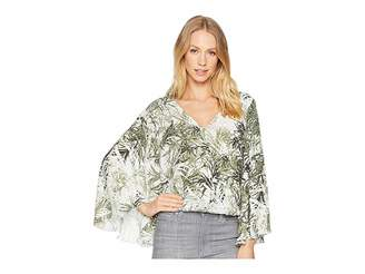 Sanctuary Gilligan Wrap Top Women's Long Sleeve Pullover