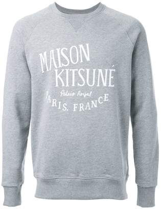 MAISON KITSUNÉ 'Palais Royal' sweatshirt