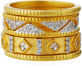Freida Rothman Visionary Fusion Crown Stack Rings, Set of 5