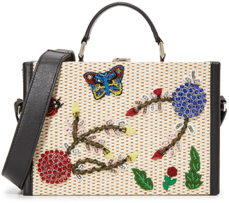 alice + olivia Insects Sydney Trunk Bag $550 thestylecure.com