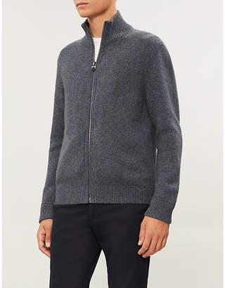 Salvatore Ferragamo Zipped cashmere jumper