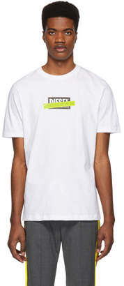 Diesel White T-Just-Die T-Shirt