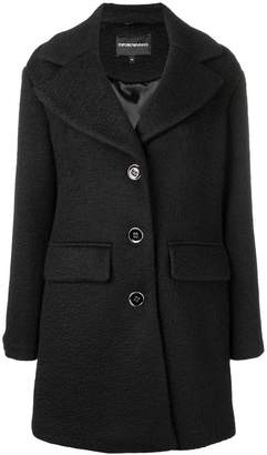 Emporio Armani loose fitted coat