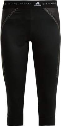 adidas by Stella McCartney Run Cropped Performance Leggings - Womens - Black