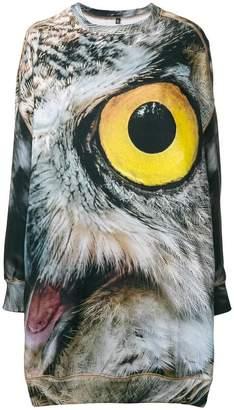 R 13 Owl Grunge sweater dress