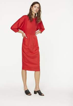 Armedangels Red Darcy Tencel Dress - 12 - Red