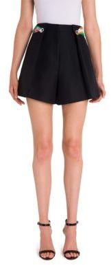 Emilio Pucci Cotton Pleated Shorts $840 thestylecure.com