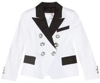 Balmain Kids Embellished blazer