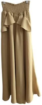 Maje Yellow Skirt for Women