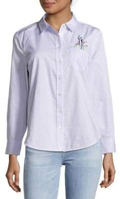 Equipment Cotton Casual Button-Down Shirt
