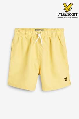 Lyle & Scott Boys Classic Swim Short - Yellow
