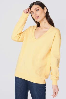 Na Kd Basic V-neck Basic Sweater Black