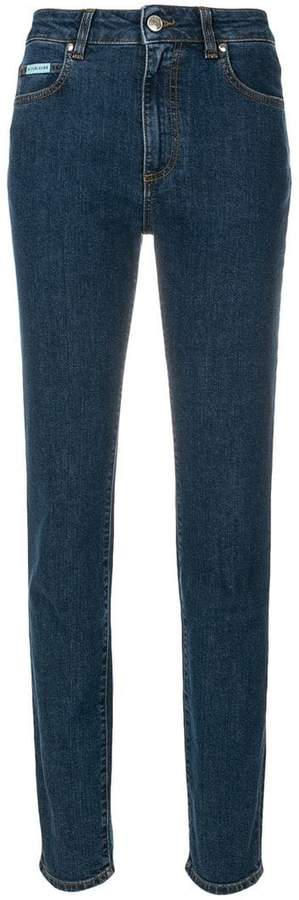 Alexa Chung Halbhohe Skinny-Jeans