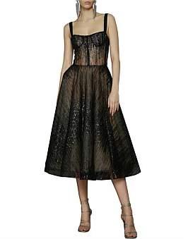 Bronx & Banco Mademoiselle Noir Dress