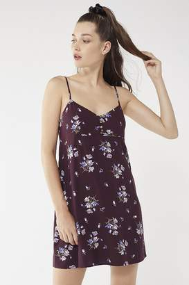Urban Outfitters Rayanne Printed Empire Mini Dress