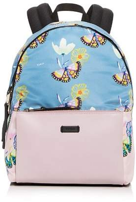 Furla Giudecca Small Floral Print Backpack