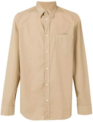 Maison Margiela long-sleeve fitted shirt