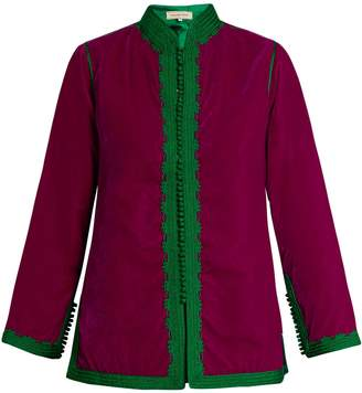 MUZUNGU SISTERS Dalia velvet jacket