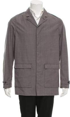 Calvin Klein Collection Lightweight Wool Jacket