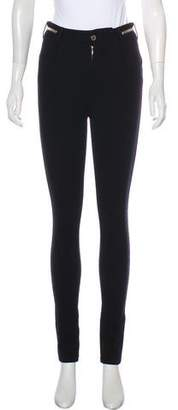 Givenchy High-Rise Skinny Pants