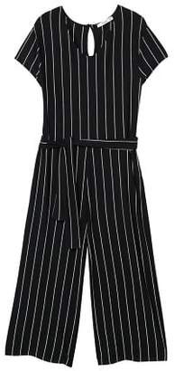 MANGO Striped jumpsuit