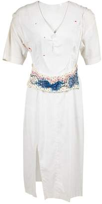 Susan Cianciolo White Linen Dresses