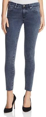 AG Super Skinny Ankle Jeans in Interstellar After Dark $198 thestylecure.com