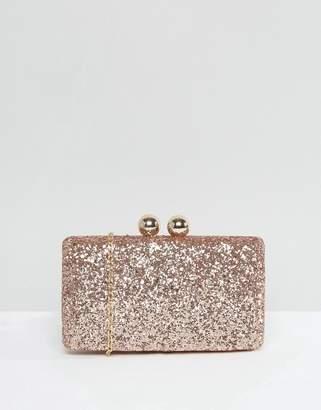 Chi Chi London Glitter Clutch Bag