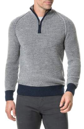 Rodd & Gunn Mackinder Quarter Zip Merino Wool Sweater