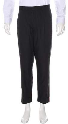 Ralph Lauren Purple Label Pleated Cuffed Pants
