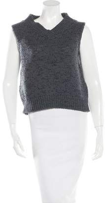 Marc Jacobs Open Knit Sleeveless Sweater