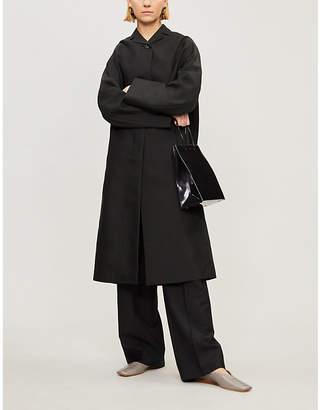 Jil Sander Single-breasted shell coat