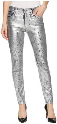 AG Adriano Goldschmied Farrah Skinny Ankle in Iced Silver Women's Jeans