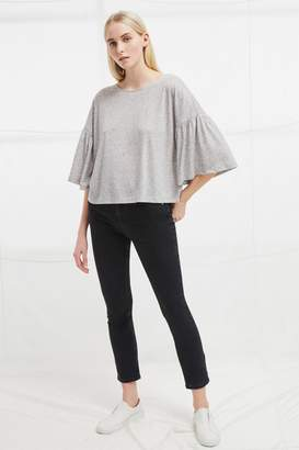French Connenction Hetty Flare Sleeve T-Shirt