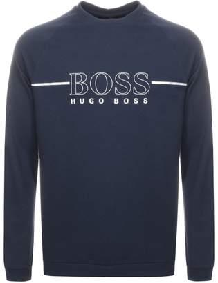 5d9136fc7 HUGO BOSS Boss Business Logo Sweatshirt Navy