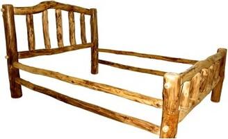 Mountain Woods Furniture Rustic Arts® Platform Bed Mountain Woods Furniture