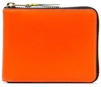 Comme des Garcons orange Zipped Wallet